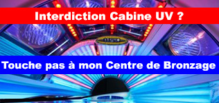 Interdiction des cabines UV en Farnce ?